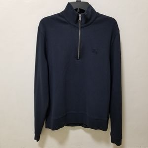 Burberry Brit Mens Sweater Navy Blue High Neck L